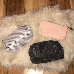 3 NEW MAKE UP BAGS